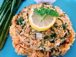 43638310271_da0f97bbd2_o-300x225 Not So Crabby Tofu Patties with Lemon Caper Sauce