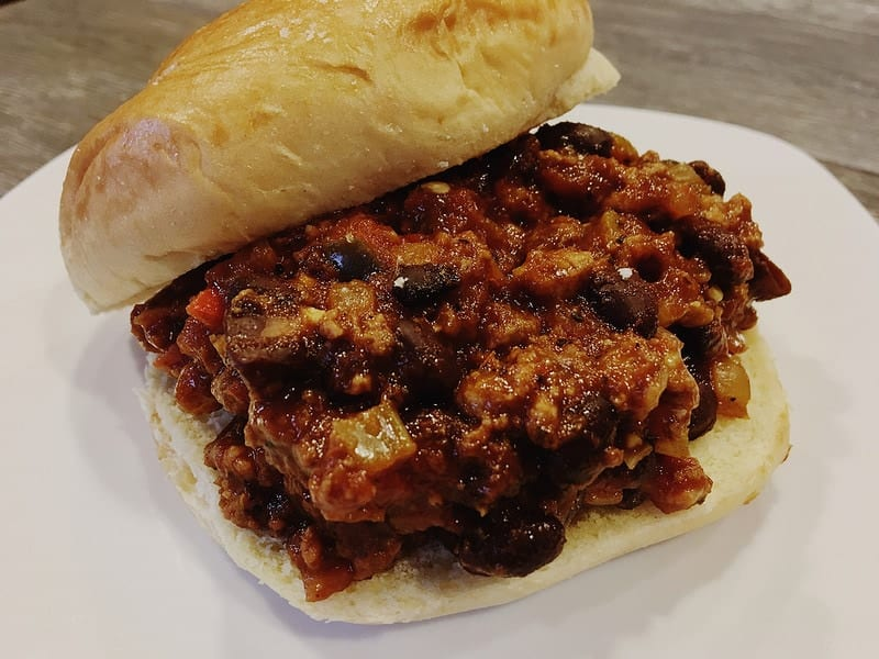 "Vegan ""Adult"" Sloppy Joes"