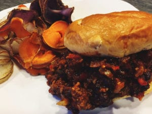"32875448141_280e92b63c_c-2-300x225 Vegan ""Adult"" Sloppy Joes"