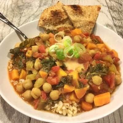 Vegan Cuban Bean and Roasted Vegetable Bowl