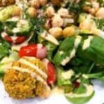 33027774364_cf0c8ae801_o-2-150x150 Oil Free Baked Falafel Salad with Lemony Tahini Dressing
