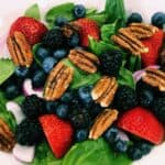33961130764_f4c6bda791_o-2-150x150 Berry Blast Spinach Salad with Fat-free Viniargette Dijon Dressing: Eat to Live