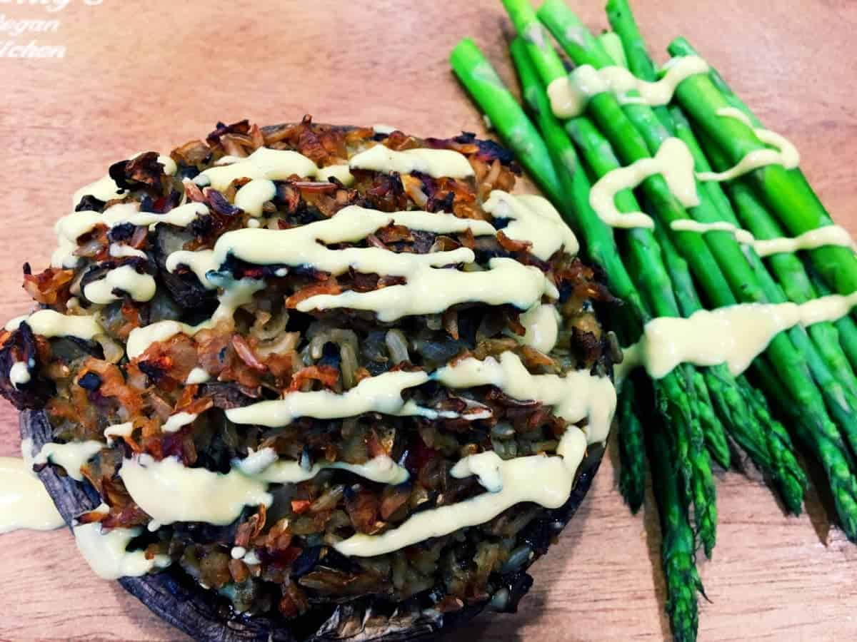 Savory Stuffed Portobello Mushrooms: Eat to Live