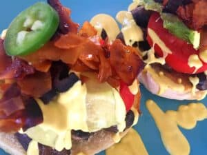 44409007731_d8fa12c392_o-300x225 Vegan Veggie Benedict with Cashew Hollandaise