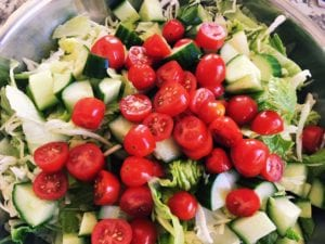 44779000062_19df767b71_o-300x225 Healthy Lentil Fattoush Salad