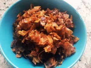 31145889298_d9790cb285_o-300x225 Vegan Coconut Bacon
