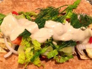 31246049238_0a59f05424_o-300x225 Grilled Eggplant Panini Wrap