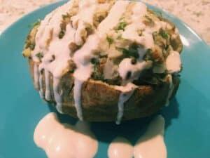 43719372551_683759fcd3_k-300x225 Lentil and Tahini Twice Baked Potatoes