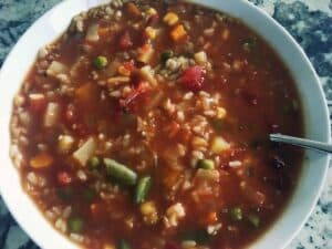 44344202344_2f4d72f66a_o-300x225 Quick and Easy Crockpot Veggie Soup with Brown Rice